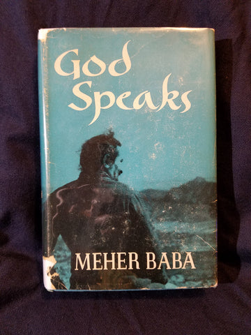 God Speaks by Meher Baba. First printing.