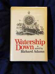 Watership Down by Richard Adams. SIGNED BY RICHARD ADAMS. 1st U.S. printing