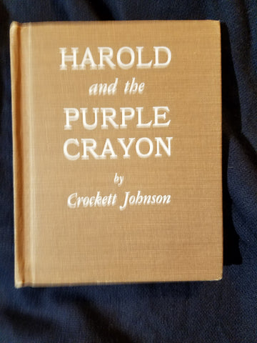 Harold and the Purple Crayon By Crockett Johnson. Early printing.