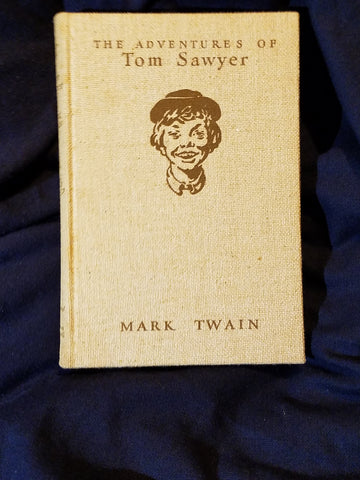 Adventures of Tom Sawyer by Mark Twain. Illustrated By Norman Rockwell. SIGNED by Rockwell
