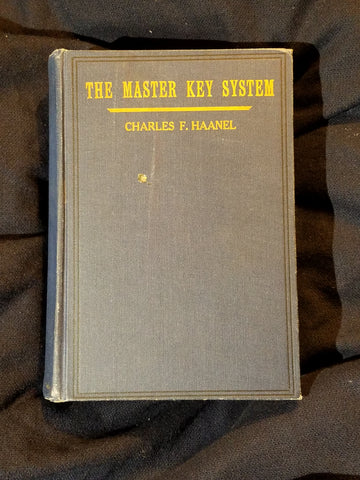 Master Key System in Twenty-Four Parts with Questionnaire and Glossary by Charles F. Haanel.