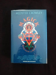 Magick: Book Four Liber Aba. by Aleister Crowley, edited by Hymenaeus Beta. signed+inscribed by Hymenaeus Beta