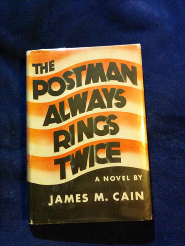 Postman Always Rings Twice by James M. Cain. FIRST EDITION