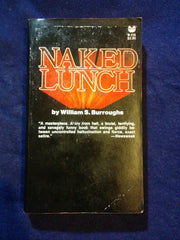 Naked Lunch by William S.Burroughs.  INSCRIBED BY BURRUOGHS