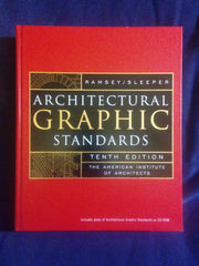 Architectural Graphic Standards, Tenth Edition with CD