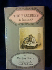 Rescuers a fantasy. by Margery Sharp First Edition with a long inscription by Sharp