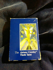 Aleister Crowley Thoth Tarot.  AGMuller.  Switzerland.