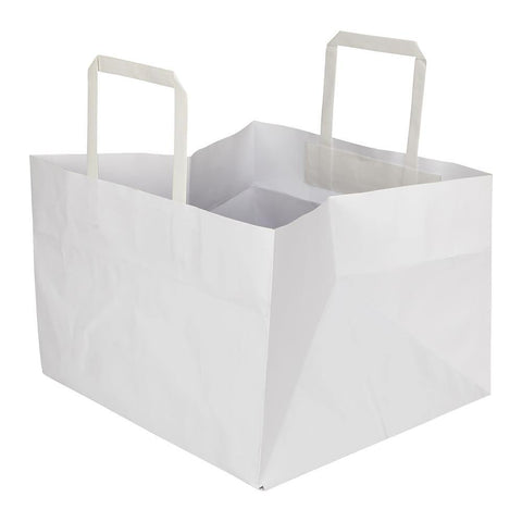 Cake Box Bag - 1 Kg - 11 x 11 x 7 - Plain - yessirbags.in