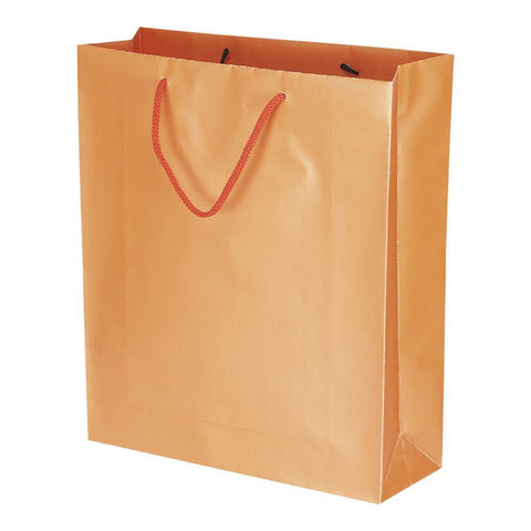 Orange Pearlised - Plain - yessirbags.in