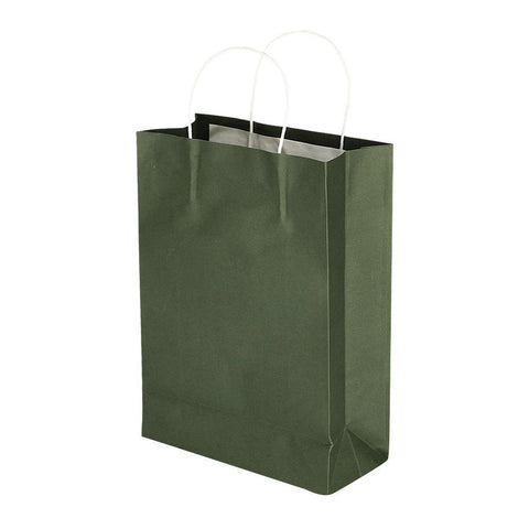 Green Kraft - 8 x 11 x 3 Plain - yessirbags.in