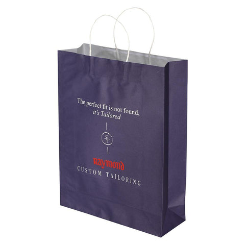 Raymond Blue - White Kraft - yessirbags.in