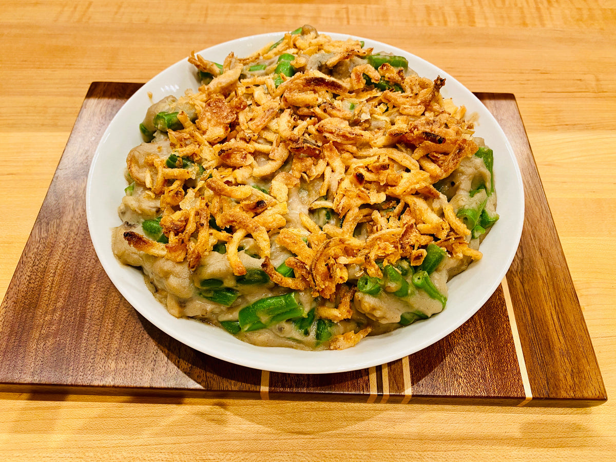 Kosher Parve Classic Thanksgiving Green Bean Casserole