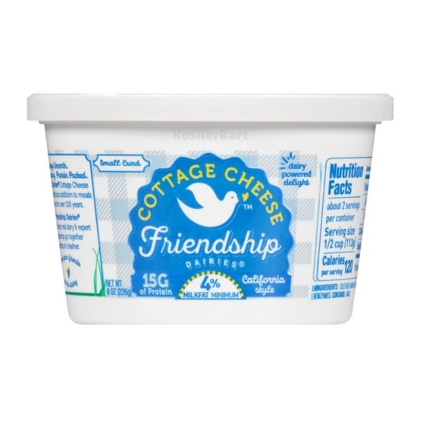 Friendship 4% Fat Cottage Cheese 8 oz