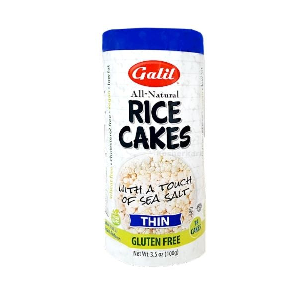 Galil Thin Rice Cakes (With Salt)