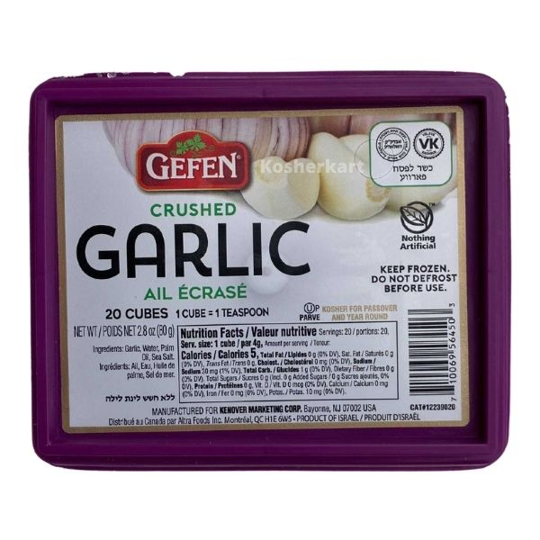 Gefen Crushed Garlic Cubes