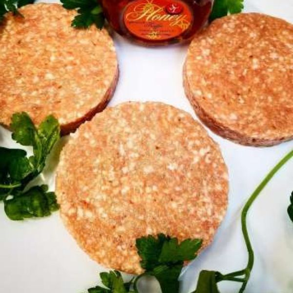 Honey Mesquite Chicken Burgers 6pk (frozen)
