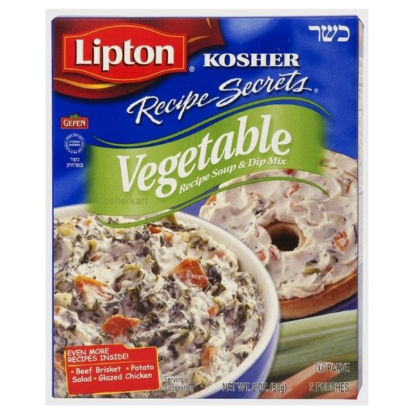 Lipton Kosher Recipe Secrets Vegetable Soup & Dip Mix