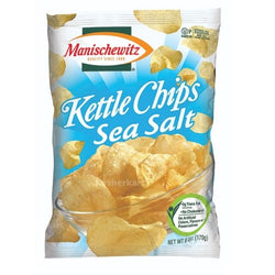 Manischewitz Kettle Chips Sea Salt