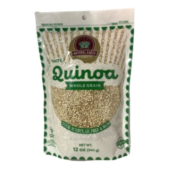 Natural Earth Kosher for Passover White Quinoa