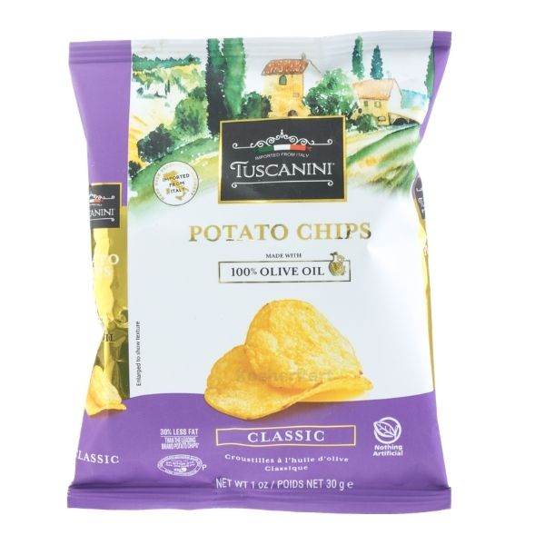 Tuscanini Classic Potato Chips Snack Bag
