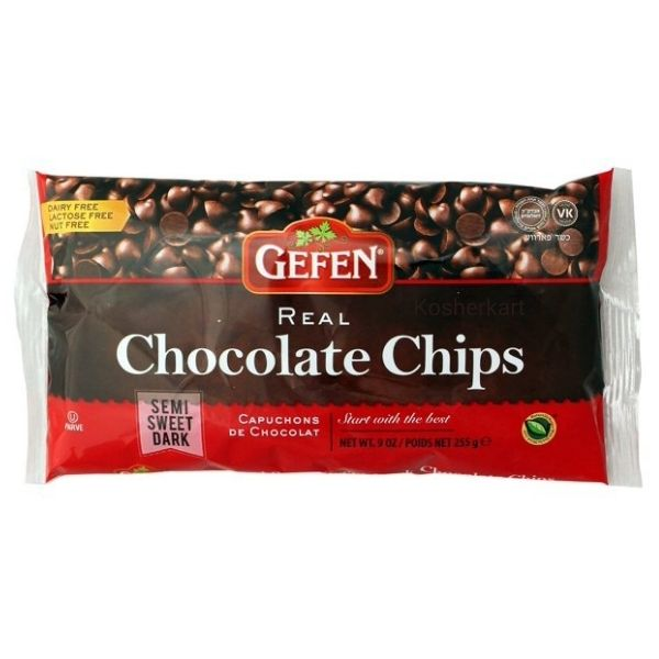 Gefen Semi-Sweet Real Chocolate Chips