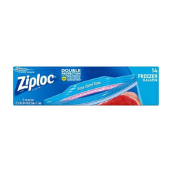 Ziploc Freezer Gallon Bags (14 ct)