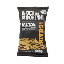 Baked in Brooklyn Pita Chips Multigrain