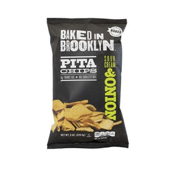 Baked in Brooklyn Pita Chips Sour Cream & Onion