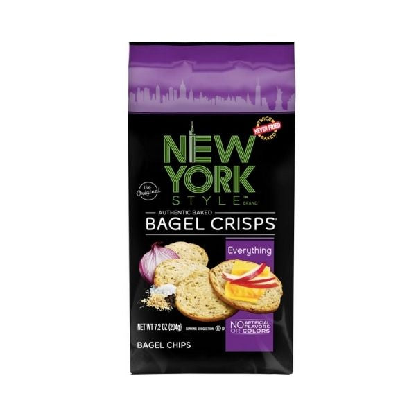 New York Style Everything Bagel Crisps | Pantry Staples | Kosherkart