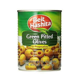 Beit Hashita Green Pitted Olives
