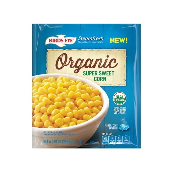 Birds Eye Steamfresh Organic Corn | Frozen Foods | Kosherkart