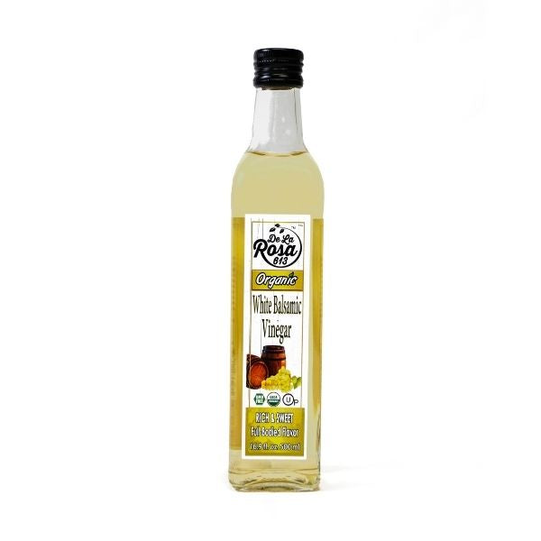 De La Rosa Organic White Balsamic Vinegar 500 ml | Pantry Staples | Kosherkart