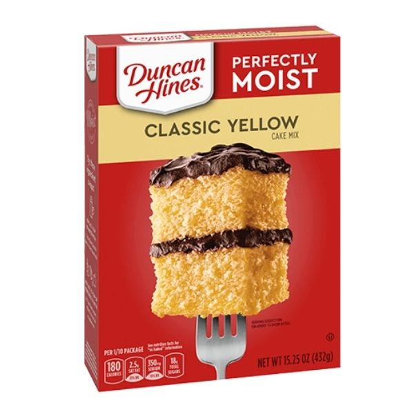 Duncan Hines Yellow Cake Mix | Pantry Staples | Kosherkart