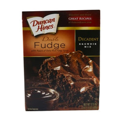 Duncan Hines Double Fudge Brownie Mix