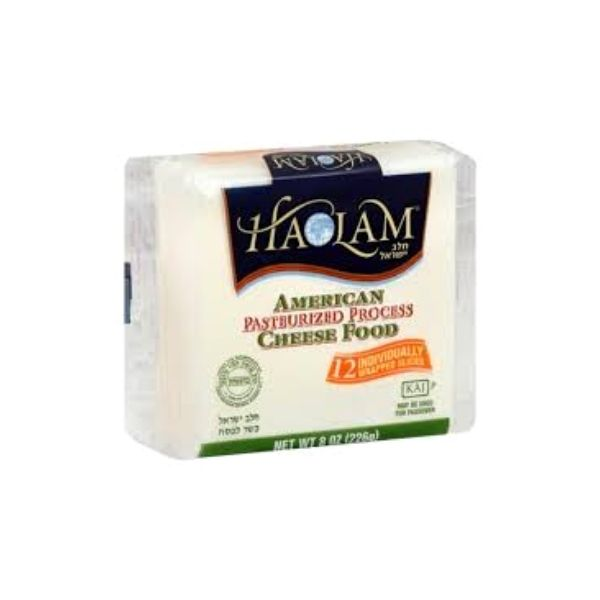 Haolam American slices - Cholov Yisroel | Dairy Cheese & Refrigerated | Kosherkart