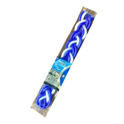 Havdalah Candle (white & blue)