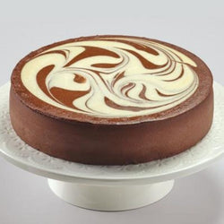 Junior's Chocolate Swirl Cheesecake