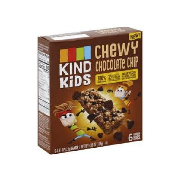 Kind Kids Chewy Chocolate Chip Bar | Pantry Staples | Kosherkart