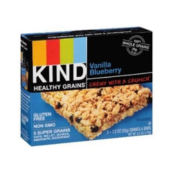Kind Vanilla Blueberry Bar GF