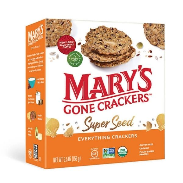 Mary's Gone Crackers Super Seed Everything | Pantry Staples | Kosherkart