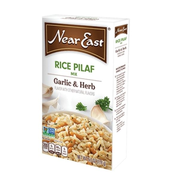 Near East Garlic and Herb Rice Pilaf | Pantry Staples | Kosherkart