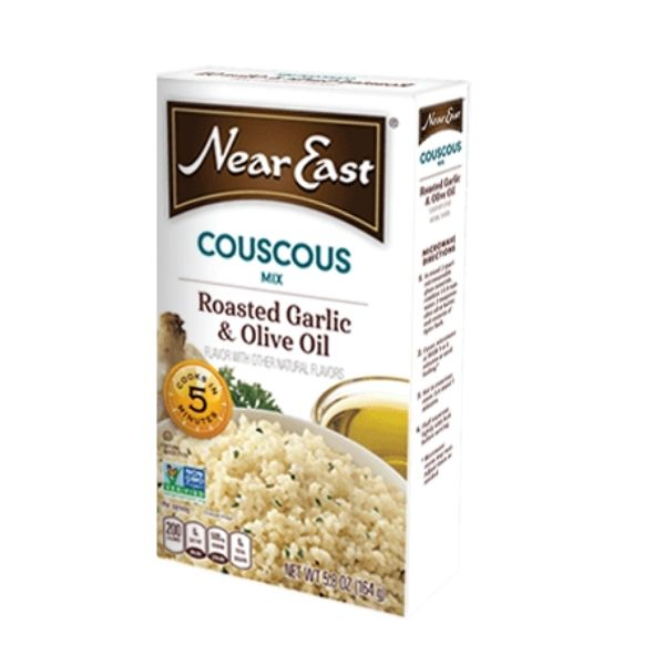 Near East Couscous Roasted Garlic and Olive Oil | Pantry Staples | Kosherkart