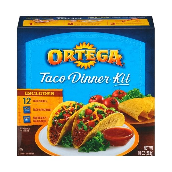 Ortega Taco Kit | Pantry Staples | Kosherkart