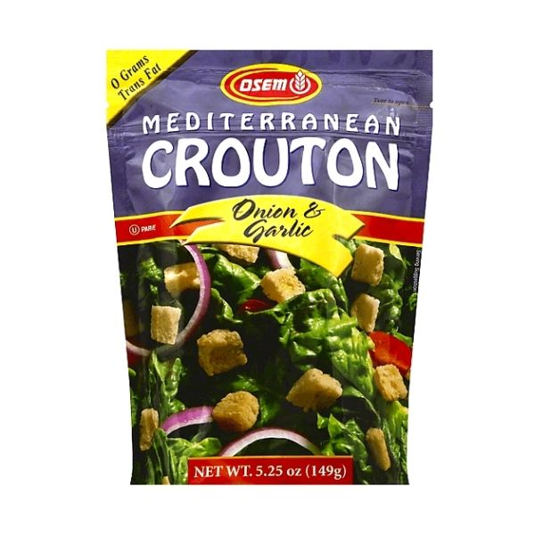 Osem Croutons Garlic & Onion Flavor | Pantry Staples | Kosherkart