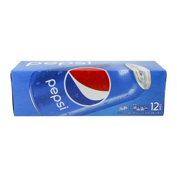 Pepsi Cola - 12 pack, 12 fl oz cans