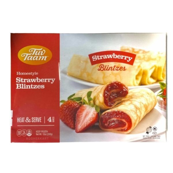 Tuv Taam Strawberry Blintzes