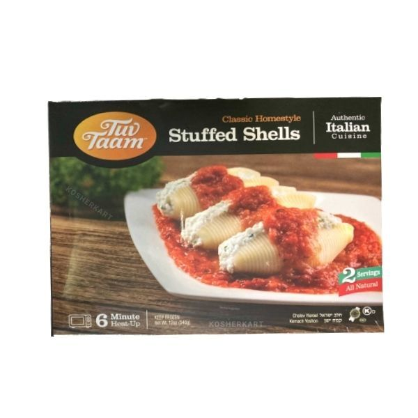 Tuv Taam Cheese Stuffed Shells With Tomato Sauce