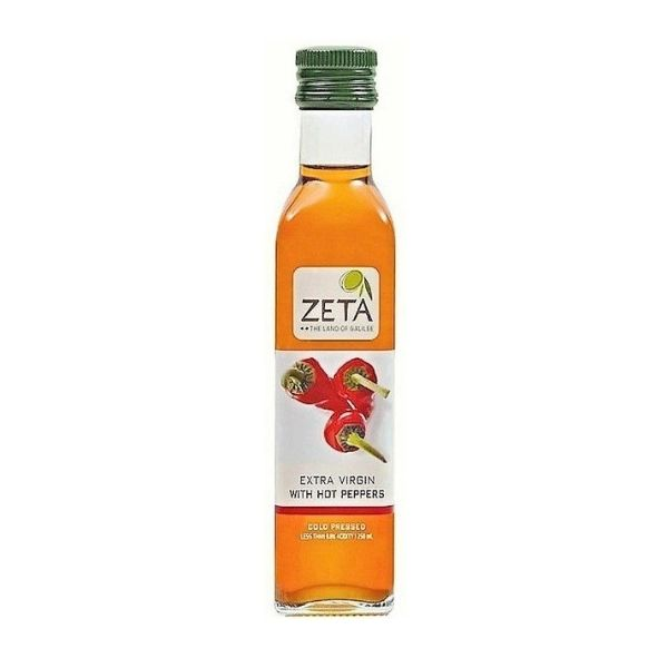 Zeta Extra Virgin Olive Oil With Hot Pepper