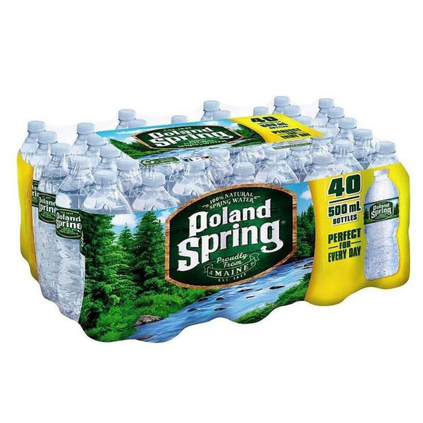 Poland Spring Water 40 CT (Includes $2.00 of Bottle Deposit) | Beverages | Kosherkart