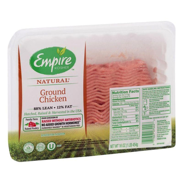 Empire Ground Chicken (frozen) $4.99/lb